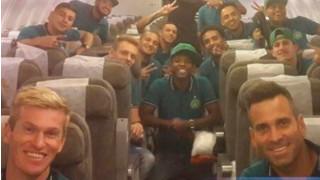 Η πρώτη πτήση των ποδοσφαιριστών της Σαπεκοένσε μετά την τραγωδία (pics)