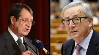 Κυπριακό: Συνάντηση Γιούνκερ-Αναστασιάδη στις Βρυξέλλες