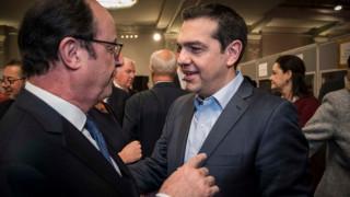Τα «πηγαδάκια» του Τσίπρα πριν από την έναρξη της Συνόδου Κορυφής (pics)