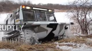 TGM-126: Το όχημα που κυκλοφορεί στις πιο δύσβατες περιοχές της Σιβηρίας (Vid)