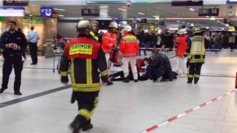Επίθεση με τσεκούρι σε σταθμό τρένων στη Γερμανία (pics)