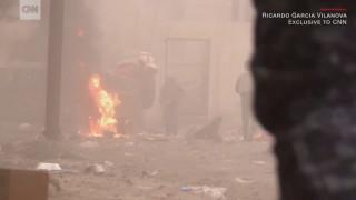 Αποκλειστικές εικόνες CNNi από τις λυσσαλέες μάχες στη Μοσούλη