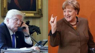 Ο Τραμπ θα ζητήσει συμβουλές από τη Μέρκελ για τον Πούτιν