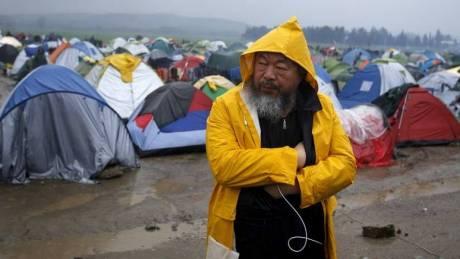 Ένα έργο του Άι Γουέι Γουέι με θέμα την προσφυγική κρίση στην Πράγα