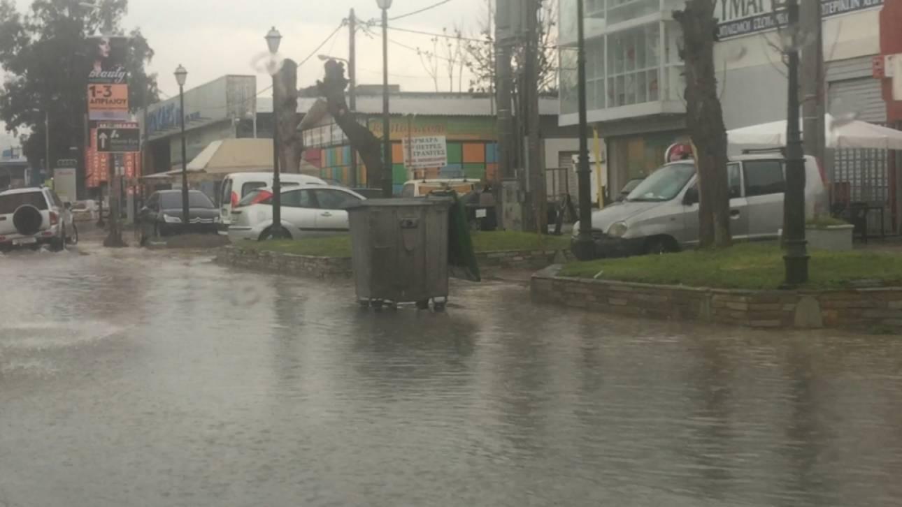 Σοβαρά προβλήματα από την καταιγίδα στην Αττική (pics)