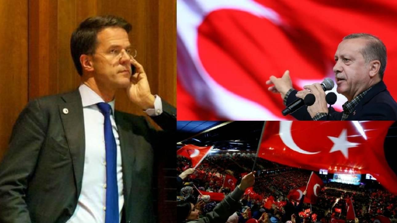 Στην αντεπίθεση η Ολλανδία κατά του Ερντογάν: «Τρελό το σχόλιο του»