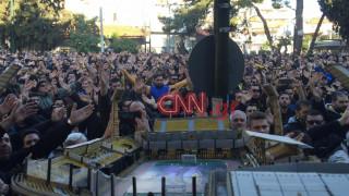 Πάνω από 5.000 φίλαθλοι στο συλλαλητήριο της ΑΕΚ για το γήπεδο (pics)