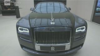 Rolls - Royce: Βαφή από σκόνη 1000 κονιορτοποιημένων διαμαντιών