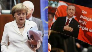 """Απάντηση Μέρκελ σε Ερντογάν: Απαράδεκτες οι δηλώσεις περί """"ναζιστικών καταλοίπων"""""""