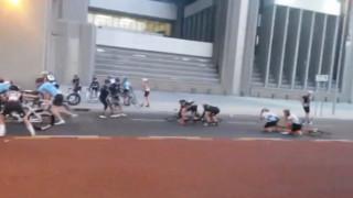 Έρμαια των θυελλωδών ανέμων οι ποδηλάτες
