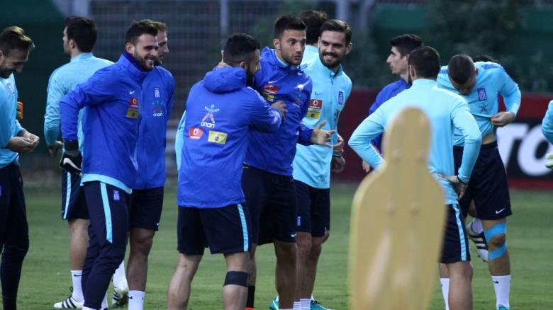 Οι επιλογές του Σκίμπε για το ματς της εθνικής ανδρών με το Βέλγιο