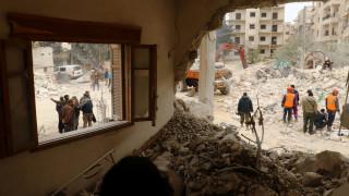 Δεκάδες νεκροί και τραυματίες από επίθεση βομβιστή αυτοκτονίας στη Δαμασκό