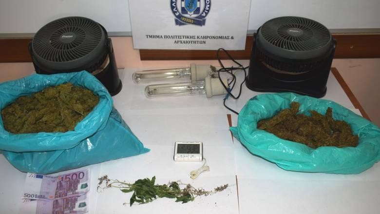 Ναύπακτος: Σύλληψή δύο αντρών για κατοχή πάνω από 3 κιλών κάνναβης
