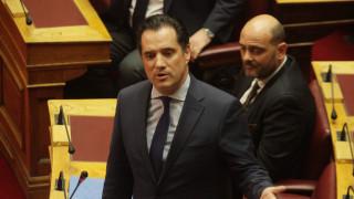 Η πρώτη αντίδραση του Άδωνι Γεωργιάδη στο CNN Greece (aud)