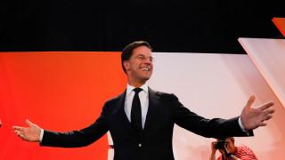 Εκλογές στην Ολλανδία: Νίκη του Ρούτε – Πανηγυρίζουν οι Βρυξέλλες