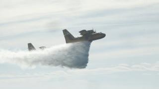 Βλάβη σε πυροσβεστικό αεροσκάφος που εκτελούσε εκπαιδευτική πτήση
