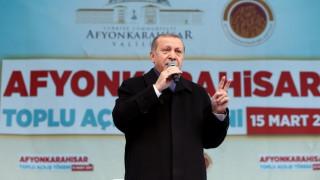 Ο Ερντογάν τώρα βλέπει «σταυροφορία» κατά του Ισλάμ
