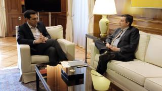 Τσίπρας-Καμίνης συζήτησαν πρωτοβουλίες για μια βιώσιμη Αθήνα (pics)