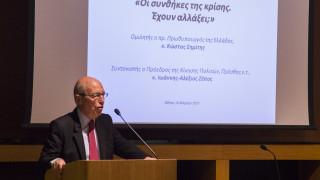 Σημίτης: Λάθος η αντίληψη ότι θα υποχωρήσουν οι εταίροι σε σκληρή στάση της Αθήνας
