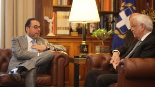 Φανατικός υπερασπιστής της Ελλάδας δήλωσε στον Π.Παυλόπουλο ο Τζ.Πιτέλα (pics)
