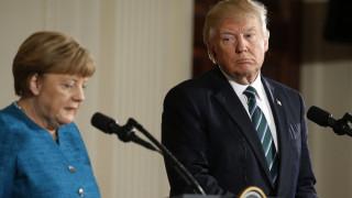 Τα μηνύματα και τα καρφιά στη συνέντευξη Τύπου Τραμπ - Μέρκελ (pics&vid)