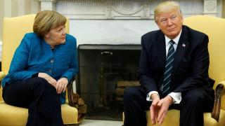 Μέρκελ – Τραμπ: Όταν ο ισχυρός άνδρας της Αμερικής σνόμπαρε τη σιδηρά κυρία της Ευρώπης