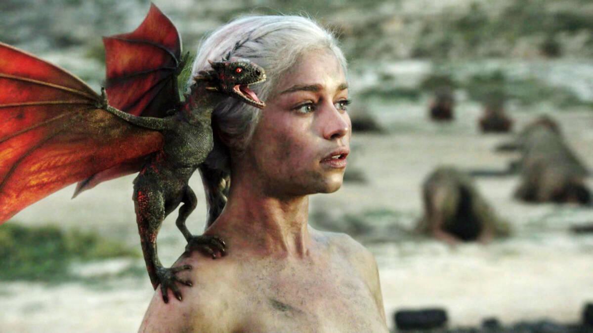 daenerys dragon GameofThrones 2