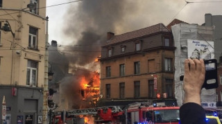 Πολλοί τραυματίες από ισχυρή έκρηξη σε κτίριο στις Βρυξέλλες