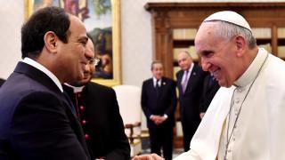 Επίσημη επίσκεψη του Πάπα Φραγκίσκου στην Αίγυπτο στα τέλη Απριλίου