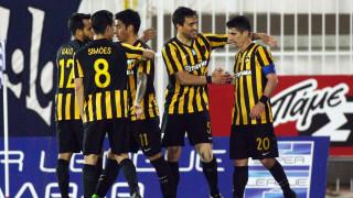 Super League: Νίκη της ΑΕΚ στο Περιστέρι, σοβαρά λάθη οι βοηθοί