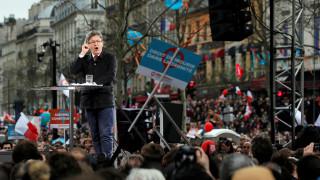 Γαλλία: Μεγαλειώδης η συγκέντρωση του Ζαν Λικ Μελανσόν (pics)