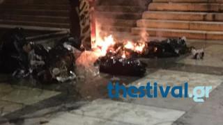 Θεσσαλονίκη: Ένταση πριν τον αγώνα βόλεϊ ΠΑΟΚ-Ολυμπιακός