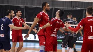 Βόλεϊ: Ολυμπιακός-Κηφισιά στον τελικό του Κυπέλλου Ελλάδας ανδρών