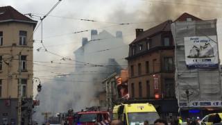 Ατύχημα η έκρηξη σε κτίριο στις Βρυξέλλες