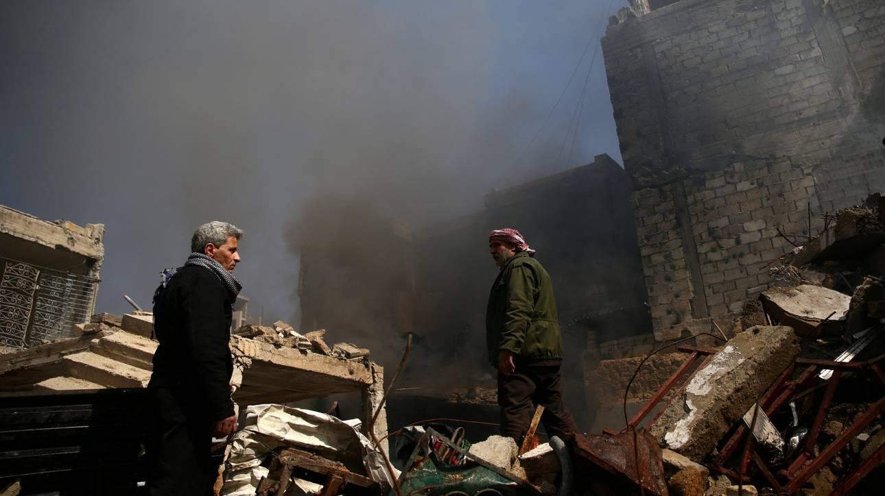 Δαμασκός: Βίαιες συγκρούσεις μετά από «επίθεση-αστραπή» τζιχαντιστών