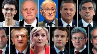 Γαλλία - εκλογές: Πέντε υποψήφιοι στη μάχη για τους αναποφάσιστους