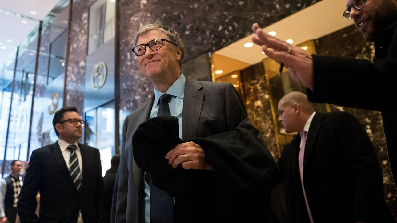 Forbes: Τρεις Έλληνες στην ίδια λίστα με τον Μπιλ Γκέιτς