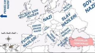Χάρτης ειρωνεύεται τον Ερντογάν για την Ευρώπη των ναζί - πώς βλέπει την Ελλάδα