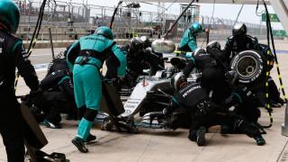 Τα pit stops της Φόρμουλα 1 απαιτούν πολλές δοκιμές και σκληρή προπόνηση