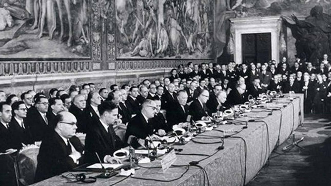 Αποκάλυψη ενός δημοσιογράφου για τη Συνθήκη της Ρώμης: Υπέγραψαν λευκές σελίδες