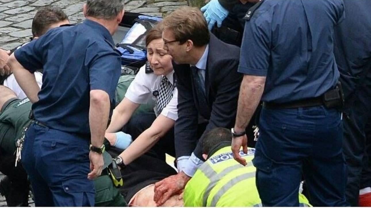 Λονδίνο: Ηρωική προσπάθεια βουλευτή να σώσει τη ζωή του αστυνομικού (pics)