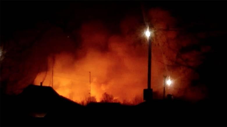 Ουκρανία: Συναγερμός μετά από έκρηξη σε αποθήκη πυρομαχικών – Οι αρχές «βλέπουν» σαμποτάζ