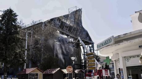 Τουρκικό ΥΠΕΞ: Να διερευνήσει η Ελλάδα τα αίτια της πυρκαγιάς στο τέμενος Βαγιαζήτ (pics)