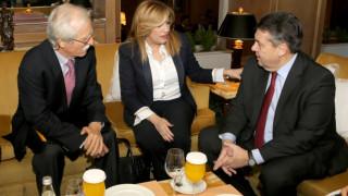 Συνάντηση Γεννηματά – Γκάμπριελ με «μενού» το μέλλον της Ευρώπης