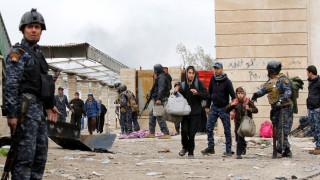 Μοσούλη: Περίπου 400.000 Ιρακινοί εγκλωβισμένοι στα δυτικά