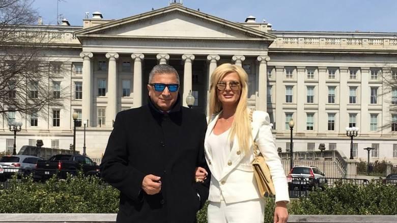 Το ζεύγος Πατούλη στο πλευρό του Τραμπ (pics)