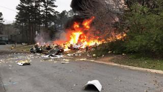 ΗΠΑ: Αεροσκάφος έπεσε πάνω σε σπίτι–Νεκρός ο πιλότος (pics&vid)