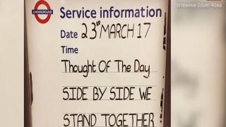 Λονδίνο: Το υπόγειο κίνημα αντίστασης στην τρομοκρατία