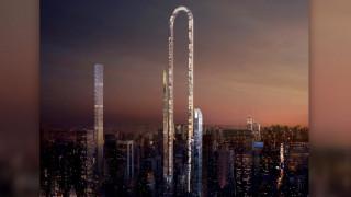 Ο απίστευτος ουρανοξύστης που λυγίζει μέχρι το έδαφος