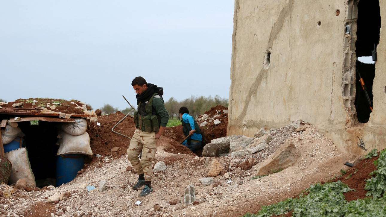 Σκοτώθηκαν 16 άμαχοι κοντά στη Δαμασκό από αεροπορική επιδρομή